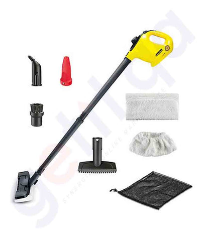 Buy Karcher KRSC1-Floorkit DIY Handheld Steam Cleaner Qatar
