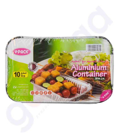 Buy V-Pack Aluminium Container A8368 Online in Doha Qatar