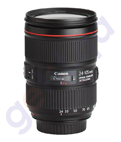 BUY CANON EF F4 L IS II USM 24-105MM LENS ONLINE IN DOHA QATAR