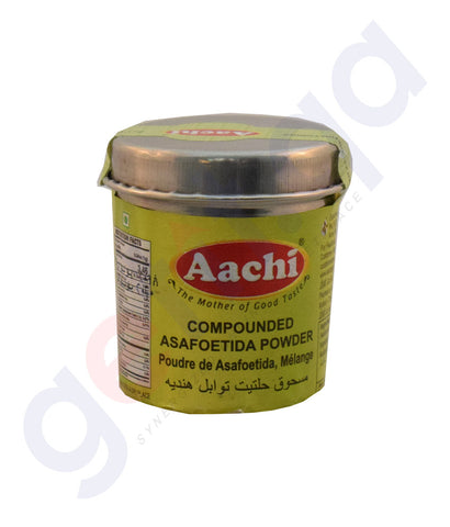 Buy Aachi Asafoetida Powder 40gm/50gm Online in Doha Qatar