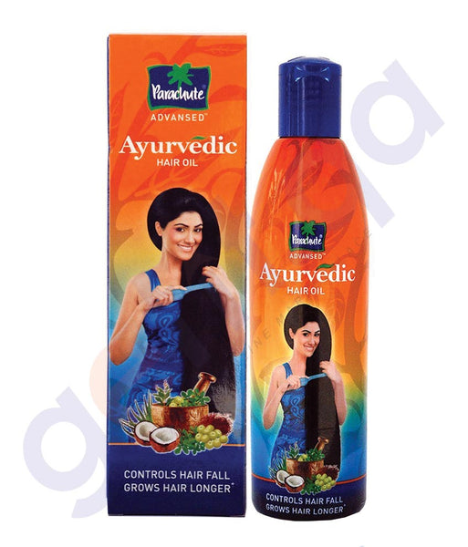 BUY PARACHUTE ADVANCED AYURVEDIC HAIR OIL 190ML/300ML ONLINE IN QATAR