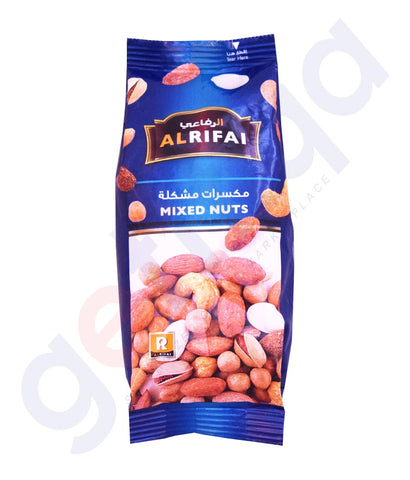 BUY BEST PRICED AL RIFAI MIXED NUTS DELUXE 200GM IN QATAR