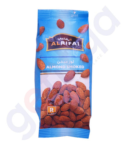 Buy Al Rifai Almonds Smoked 200g Price Online in Doha Qatar
