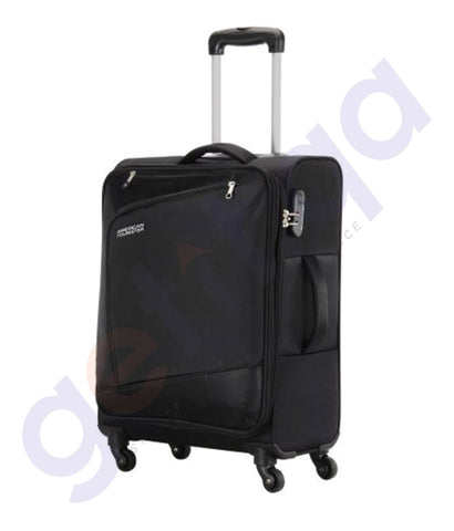 BUY AMERICAN TOURISTER VIENNA SPINNER 57CM BLACK 29O IN QATAR