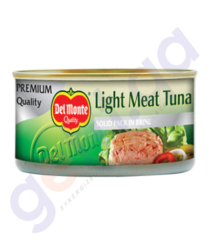 BUY DEL MONTE LIGHT MEAT TUNA S/PK-IN BRINE 185GM IN QATAR