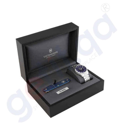 Buy Victorinox Alliance Blue Men 241802.1 Online Doha Qatar