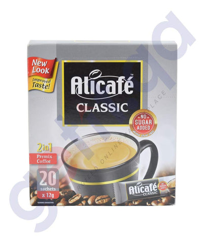 Buy Alicafe Classic No Sugar Added 20*12g Online Doha Qatar
