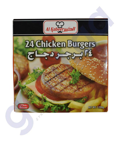 Buy Al Kabeer Chicken Burger 1200gm Online in Doha Qatar