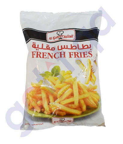 Buy Al Kabeer French Fries 1kg/2.5kg Online in Doha Qatar