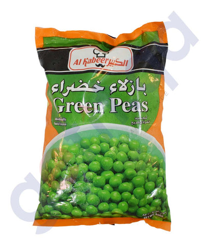 Buy Al Kabeer Green Peas 400gm Online in Doha Qatar