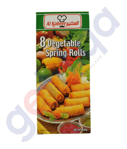 Buy Al Kabeer Vegetable Spring Roll 280gm Online Doha Qatar