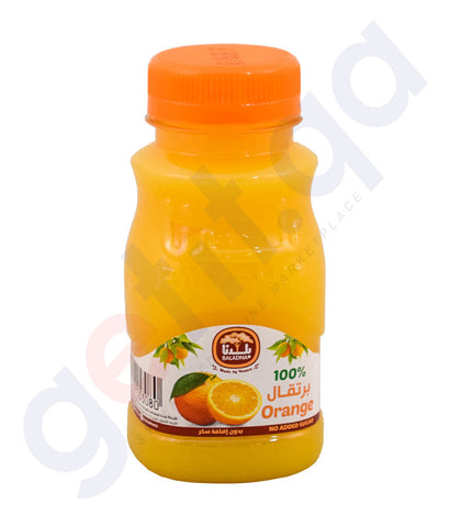 Buy Baladna Chilled Juice Orange 180ml Online in Doha Qatar