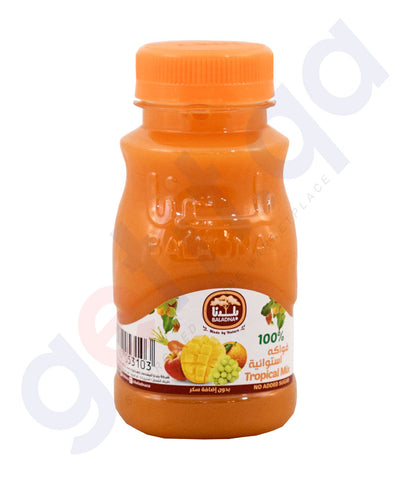 Buy Baladna Chilled Juice Tropical Mix 180ml in Doha Qatar