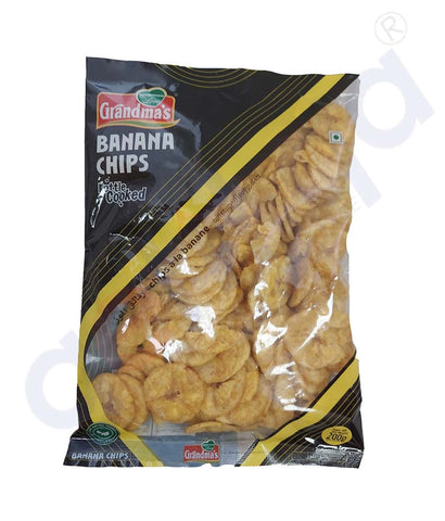 Buy Ajwa Banana Chips 125g/ 1kg Online in Doha Qatar