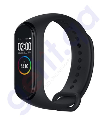 Buy Mi Smart Band 4 Black Price Online in Doha Qatar