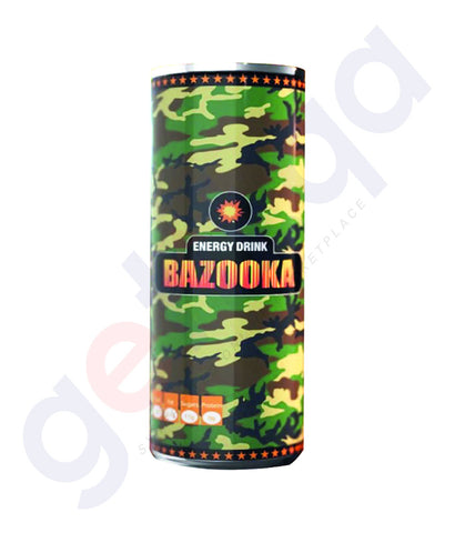 Buy Bazooka Energy Drink Price Online in Doha Qatar