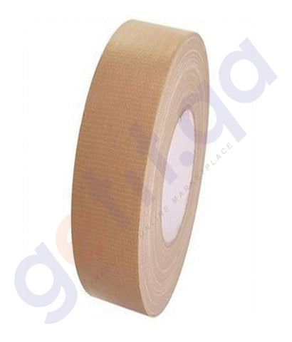 "BUY ATLAS CLOTH TAPE 1½""X25M (38MM) BEIGE - AS-BTC1525-BG ONLINE IN QATAR"