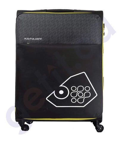 BUY KAMILIANT ZULU SOFT TROLLEY 70 CM BLACK - 17S (*) 09 017 IN QATAR