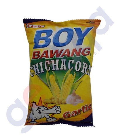 Buy Boy Bawang Chi Cha Corn Garlic Online in Doha Qatar