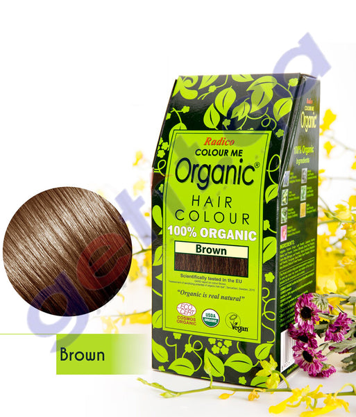 Buy Radico Colour Me Organic Brown Color Online Doha Qatar