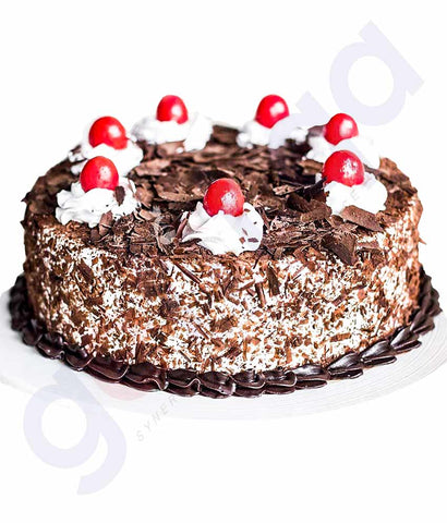 Buy Best Quality Black Forest Cake 1Kg Price in Doha Qatar