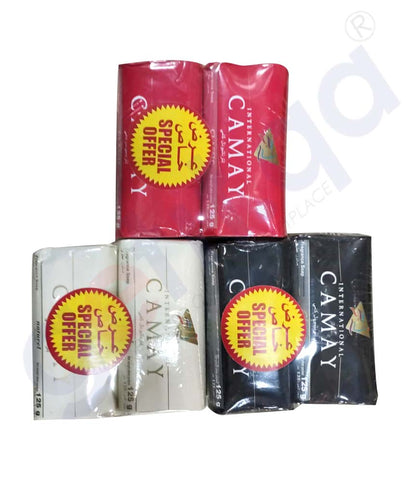 Buy Camay Int. Soap 125g 6Pcs Assrtd Online in Doha Qatar