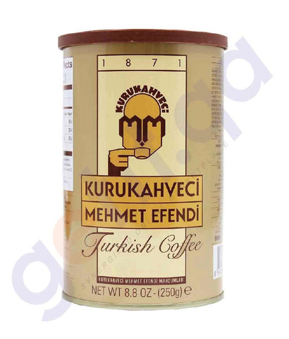 KURUKAHVECI MEHMET EFENDI TURKISH  COFFEE -250 gms