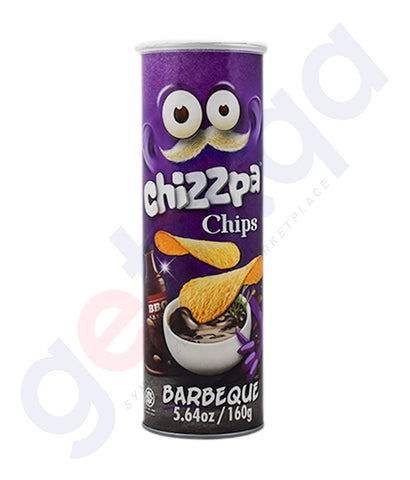 Buy Chizzpa Chips Barbeque 160g Price Online in Doha Qatar