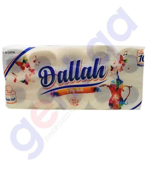Buy Dallah Toilet Roll 2Ply 150s Price Online in Doha Qatar