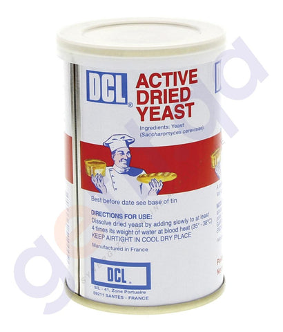 BUY BEST PRICED DCL ACTIVE DRIED YEAST 125GM ONLINE IN QATAR