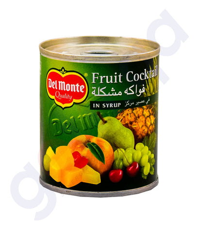 Buy Delmonte Fruit Cocktail in Syrup 227g Online Doha Qatar