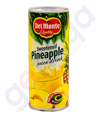 Buy Delmonte Sweetened Pineapple Juice Online in Doha Qatar
