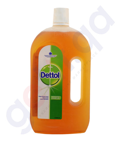 Buy Dettol Antiseptic Germicide 1Ltr Online in Doha Qatar