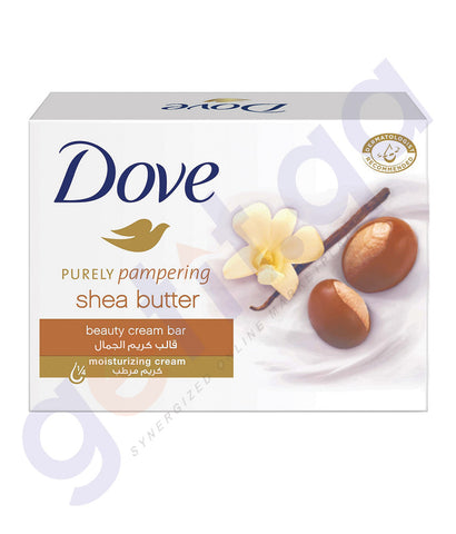 BUY DOVE 135GM BEAUTY BAR  SHEA BUTTER SOAP IN DOHA QATAR