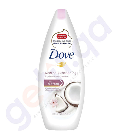 BUY DOVE 250ML COCONUT MILK & JASMIN PETALS SHOWER GEL IN DOHA QATAR