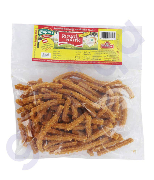 BUY BEST QUALITY ROYAL RICE MURUKU STICK 400GMS ONLINE IN QATAR