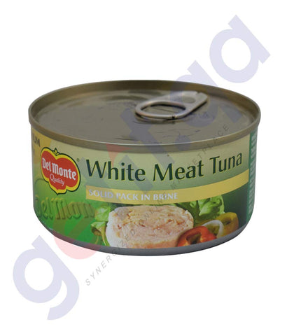 Buy Del Monte White Meat Tuna in Brine 185gm in Doha Qatar