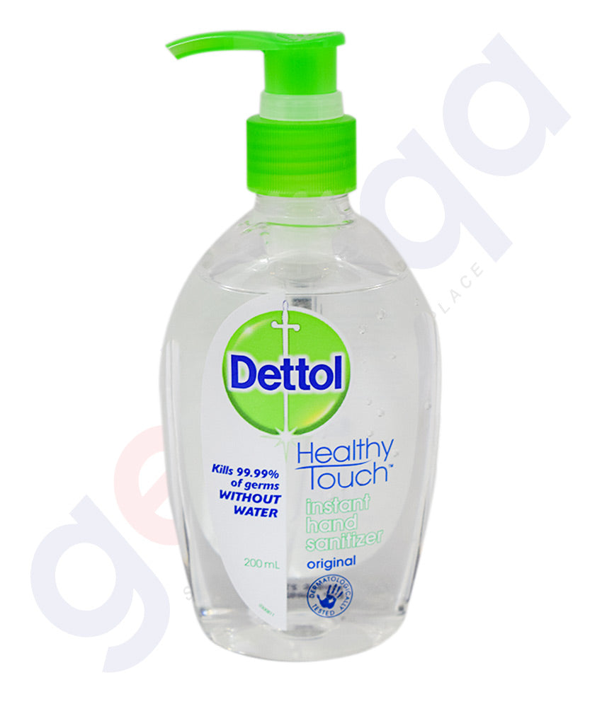 Getit Qa Buy Dettol Hand Sanitizer Original 200ml Online Doha Qatar