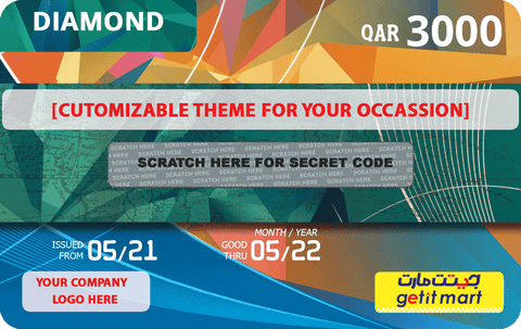 GETIT.QA's CORPORATE DIAMOND GIFT CARD
