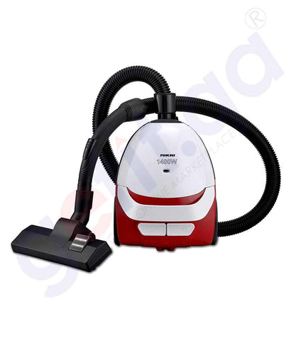 Buy Nikai NVC2302A1 Vacuum Cleaner 1400w Price Online in Doha Qatar