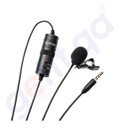 Buy Boya Lavaliere Microphone [By-M1] Online in Doha Qatar