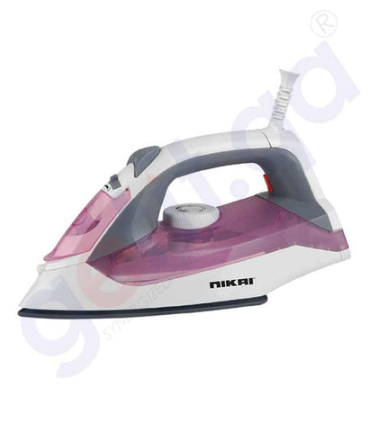 Buy Nikai NSI858A Steam Iron Price Online in Doha Qatar