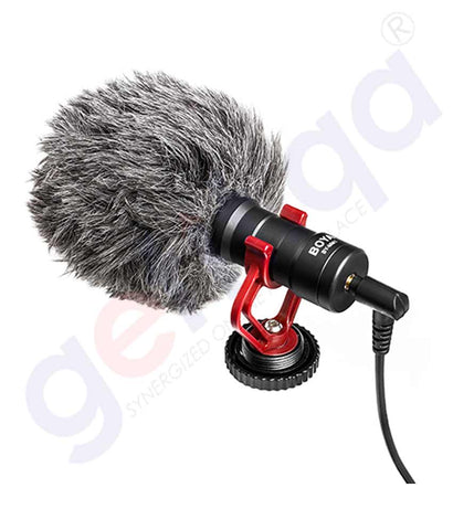 Boya Universal Mini Shotgun Microphone [BY-MM1] Doha Qatar