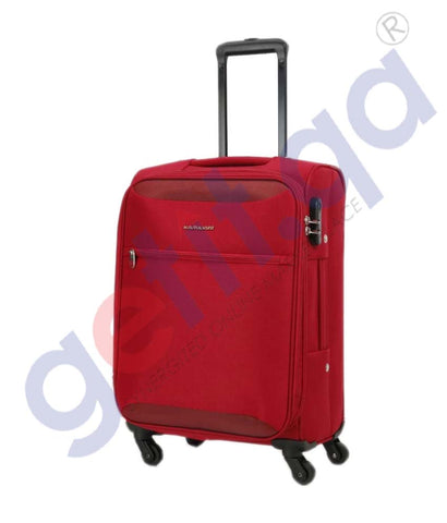 GETIT.QA | Buy Kamiliant Zaka Soft Trolley Medium 67cm-Maroon Doha Qatar