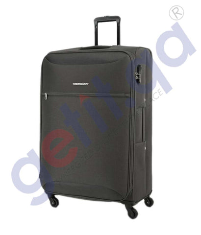 GETIT.QA | Buy Kamiliant Zaka Soft Trolley Medium 67CM- Grey Doha Qatar