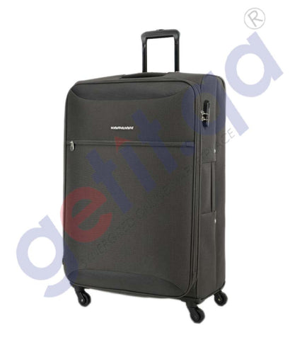 GETIT.QA | Buy Kamiliant Zaka Soft Trolley Large 78cm- Grey Doha Qatar