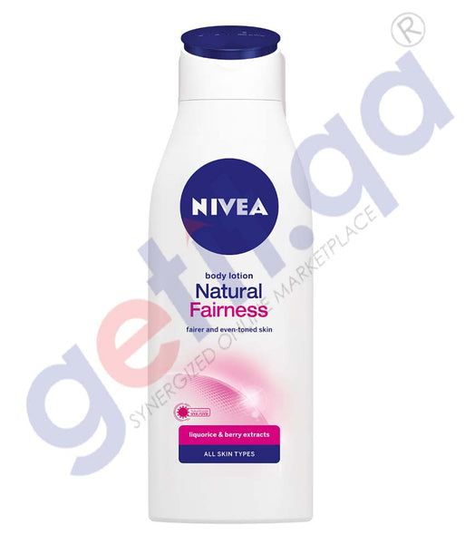 GETIT.QA | Buy Nivea Natural Fairness Body Lotion 250ml Online Doha Qatar