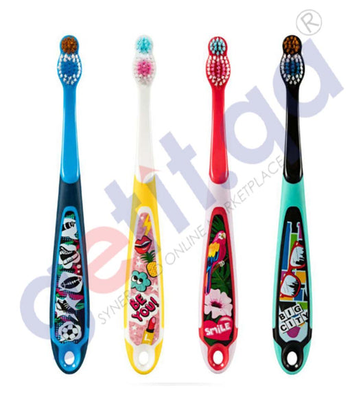 GETIT.QA | Buy Jordan Kids Toothbrush Step 6-9 Soft Online Doha Qatar