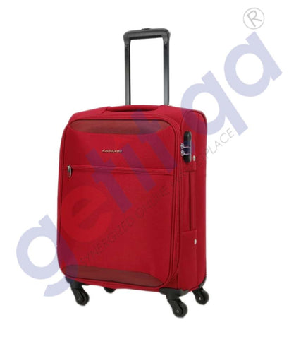 GETIT.QA | Buy Kamiliant Zaka Soft Trolley Large 78cm-Maroon Doha Qatar