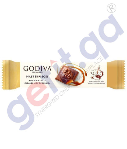 Godiva Milk Chocolate Caramel Lion 32g Regular